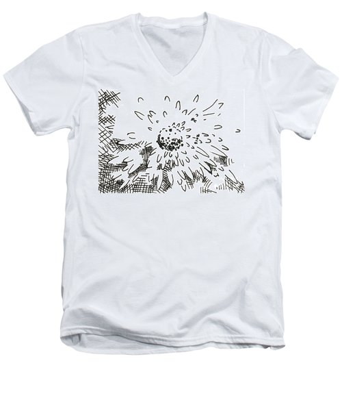 Flower 2 2015 - Aceo Men's V-Neck T-Shirt