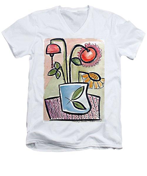 Flower Jug Men's V-Neck T-Shirt