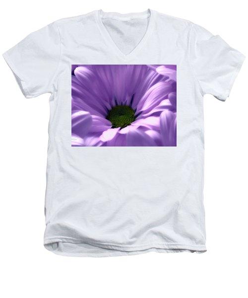 Flower Macro Beauty 4 Men's V-Neck T-Shirt