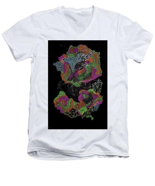 Flower Of Life Men's V-Neck T-Shirt