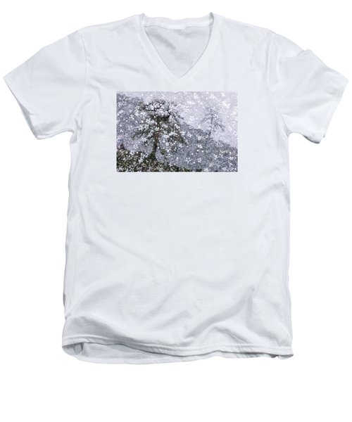 Flower Shower Men's V-Neck T-Shirt