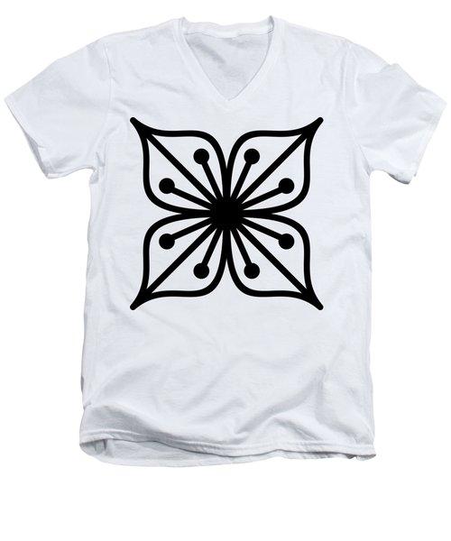 Flower  Men's V-Neck T-Shirt