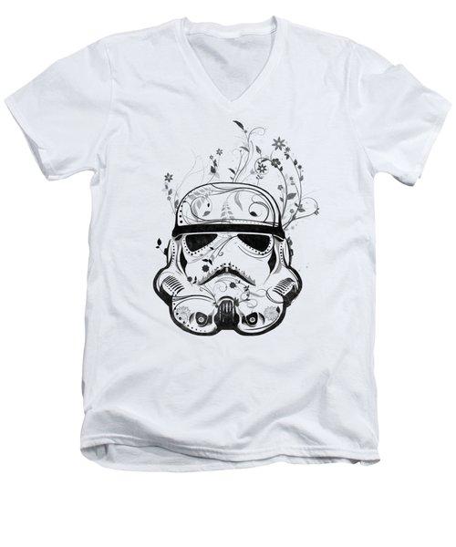 Flower Trooper Men's V-Neck T-Shirt