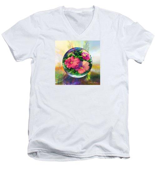 Flowering Panopticon Men's V-Neck T-Shirt