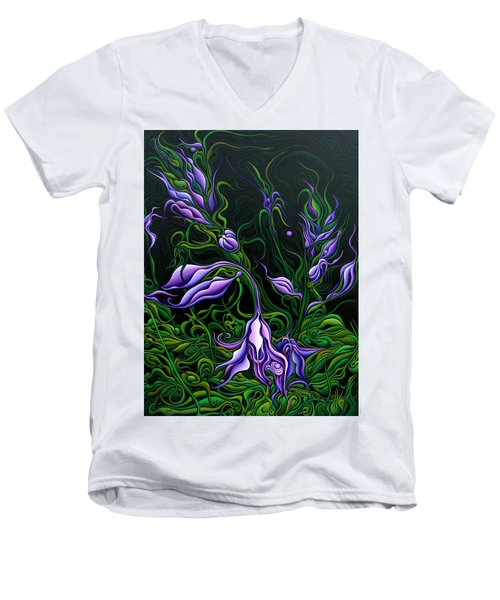 Flowers From The Failed Fiction Men's V-Neck T-Shirt