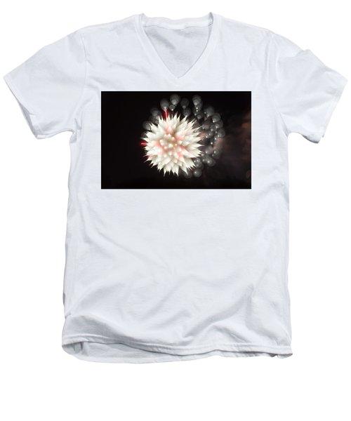 Flowers In The Sky Men's V-Neck T-Shirt