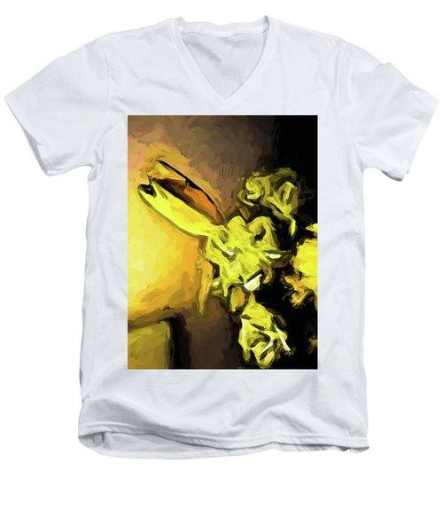 Flowers Of Yellow 1 Men's V-Neck T-Shirt