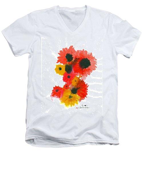 Flowerworks Men's V-Neck T-Shirt