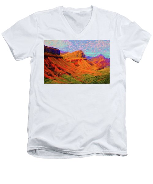 Flowing Rock Men's V-Neck T-Shirt