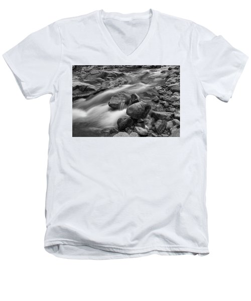 Flowing Rocks Men's V-Neck T-Shirt by James BO Insogna
