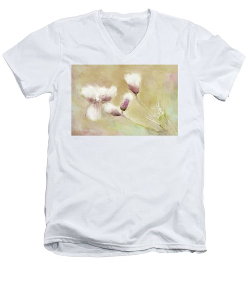 Fluffy Thistle Men's V-Neck T-Shirt