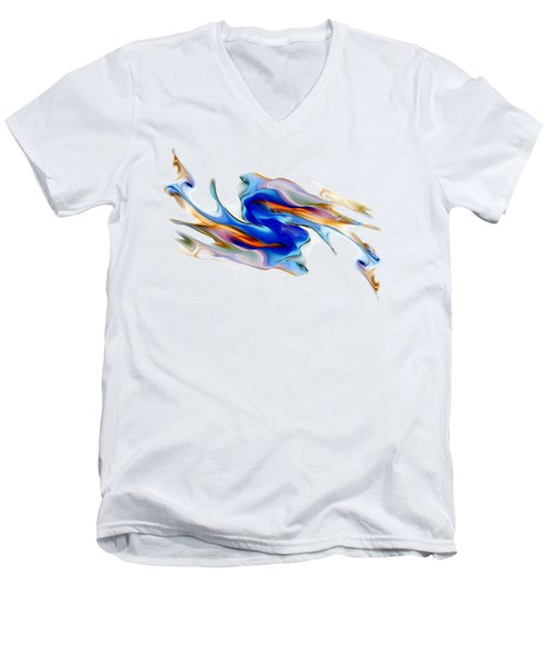 Fluid Colors Men's V-Neck T-Shirt