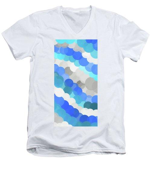 Fluid Men's V-Neck T-Shirt by Dan Sproul