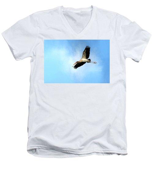 Fly By 2 Men's V-Neck T-Shirt
