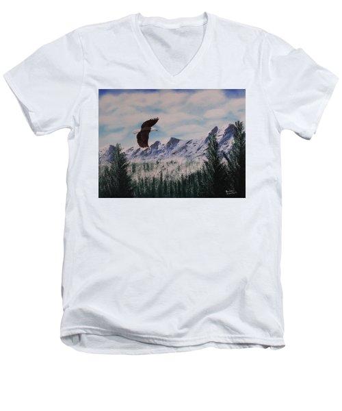 Fly Like An Eagle Men's V-Neck T-Shirt