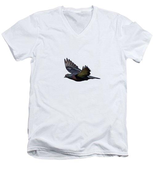 Flying Pigeon Men's V-Neck T-Shirt