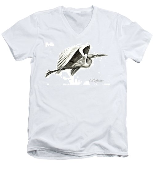Flying Your Way Men's V-Neck T-Shirt