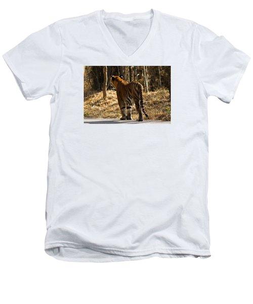 Focused Men's V-Neck T-Shirt