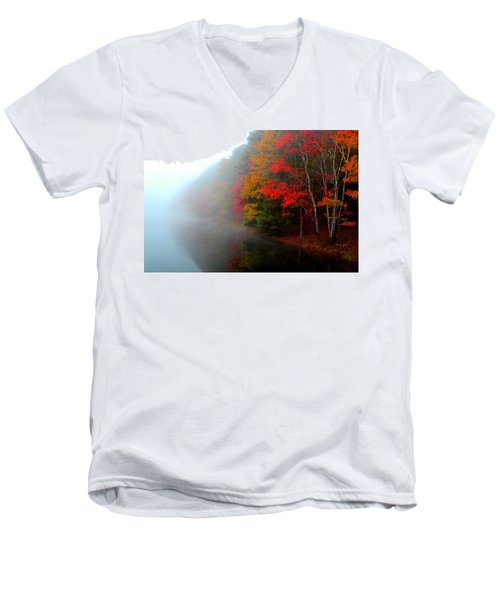Clearing Fog Men's V-Neck T-Shirt