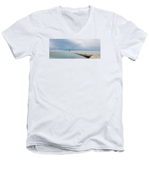Fog Lifts Men's V-Neck T-Shirt