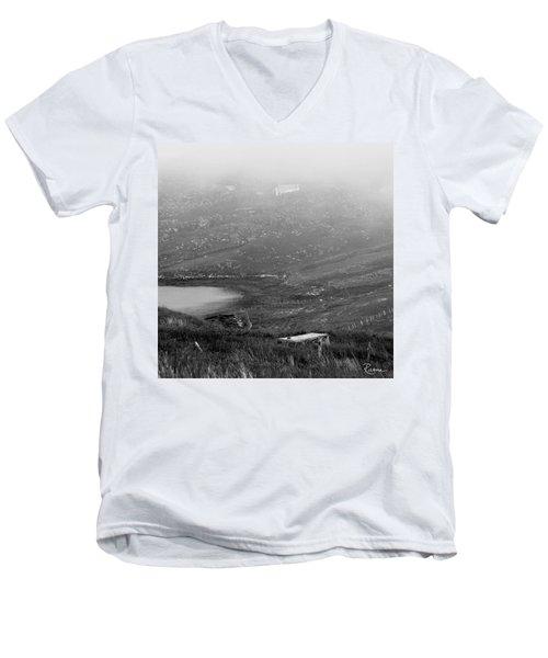Foggy Scottish Morning Men's V-Neck T-Shirt