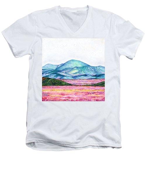 Follow Your Feelings Men's V-Neck T-Shirt