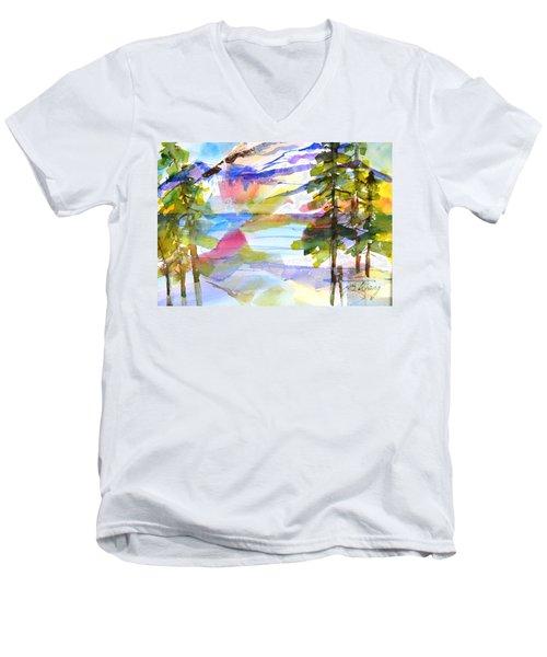 For Love Of Winter #1 Men's V-Neck T-Shirt