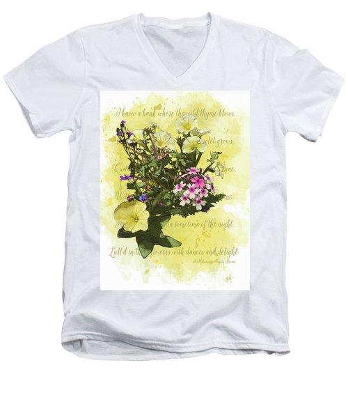 For Titania Men's V-Neck T-Shirt