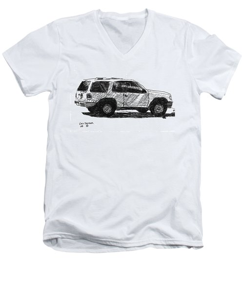 Ford Explorer Men's V-Neck T-Shirt