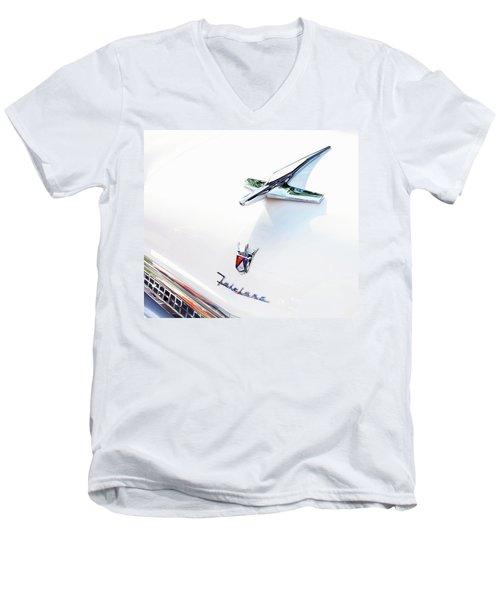 Ford Fairlane Classic Men's V-Neck T-Shirt by Theresa Tahara