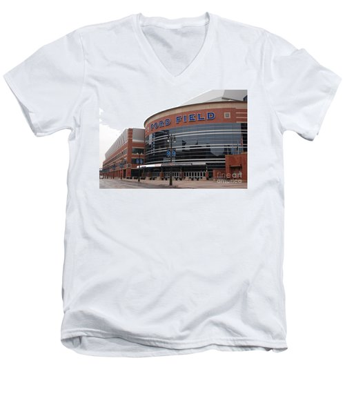 Ford Field Men's V-Neck T-Shirt