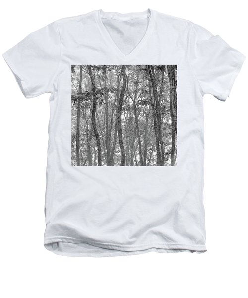 Forest #090 Men's V-Neck T-Shirt