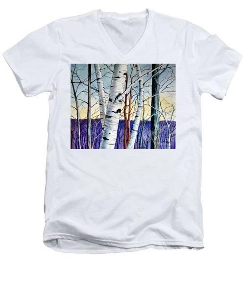 Forest Of Trees Men's V-Neck T-Shirt