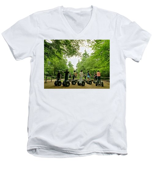 Forest Segway Men's V-Neck T-Shirt