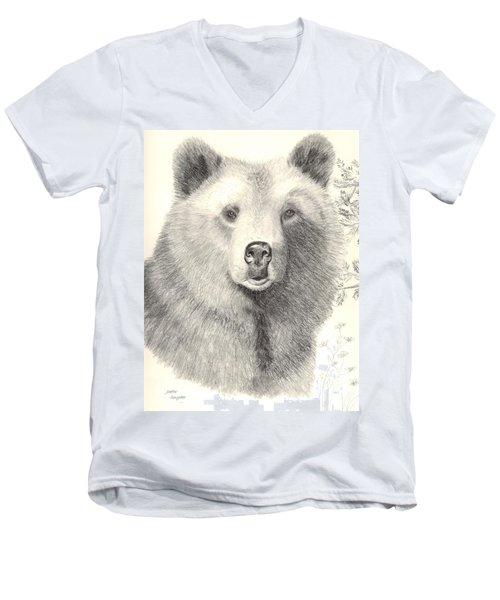 Forest Sentry Men's V-Neck T-Shirt