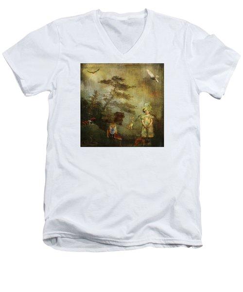 Forest Wonderland Men's V-Neck T-Shirt