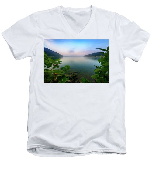 Forever Morning Men's V-Neck T-Shirt
