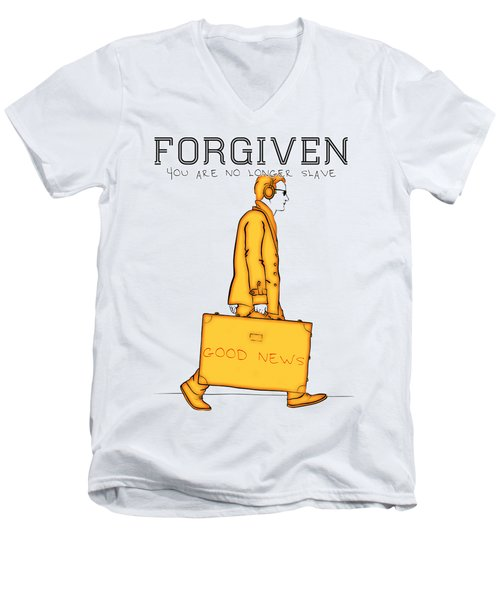Forgiven Men's V-Neck T-Shirt