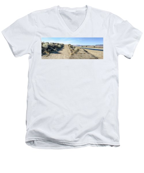 Fork In The Road Men's V-Neck T-Shirt