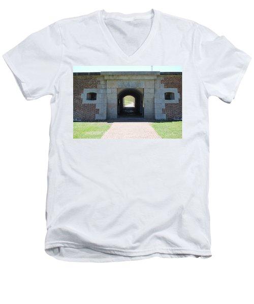 Fort Moultrie Men's V-Neck T-Shirt