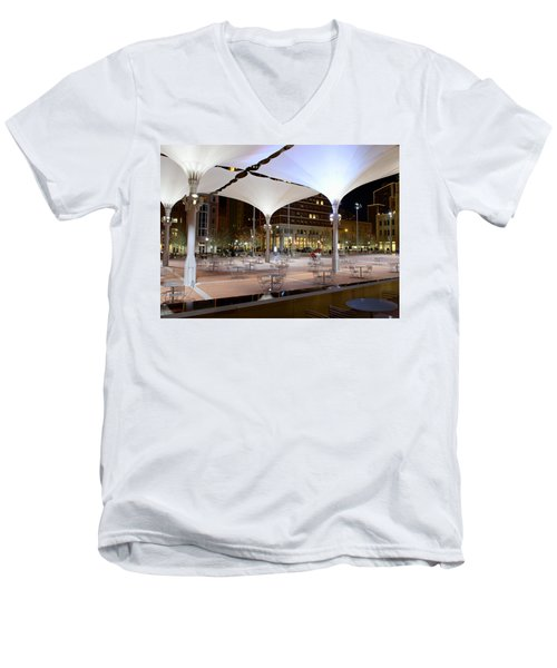 Fort Worth Sundance Square Men's V-Neck T-Shirt