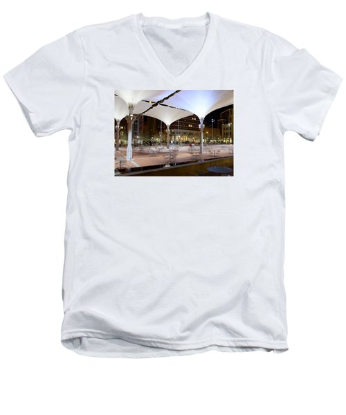 Fort Worth Sundance Square Men's V-Neck T-Shirt