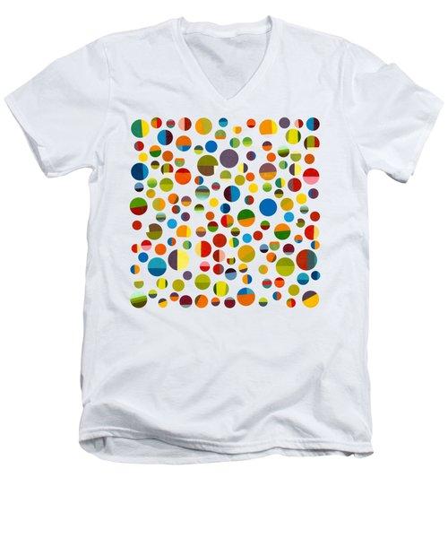Found My Marbles 3.0 Men's V-Neck T-Shirt