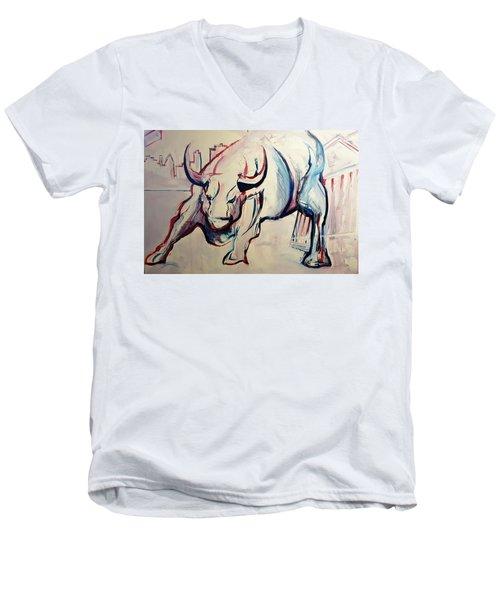 Foundation Of Finance Men's V-Neck T-Shirt