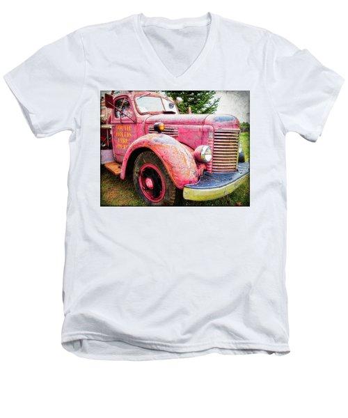 Four Alarm Blaze Men's V-Neck T-Shirt