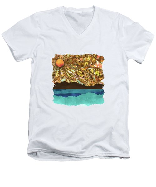 Fractured Sky Men's V-Neck T-Shirt