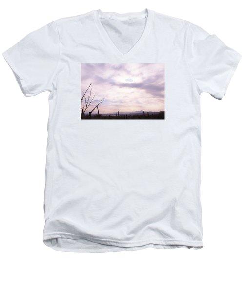 Framed Cloud Men's V-Neck T-Shirt