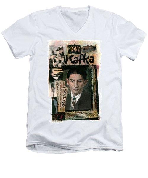 Franz Kafka Men's V-Neck T-Shirt