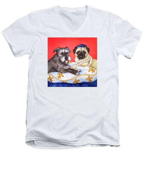 French Friends Men's V-Neck T-Shirt