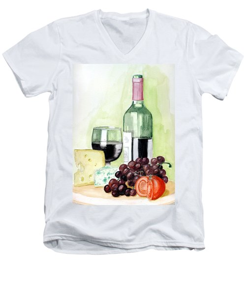 French Tradition Men's V-Neck T-Shirt